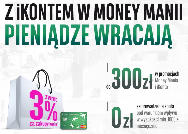 Money Mania z iKontem