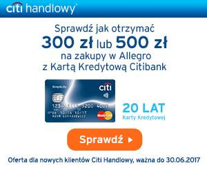 Karta Simplicity i voucher na Allegro