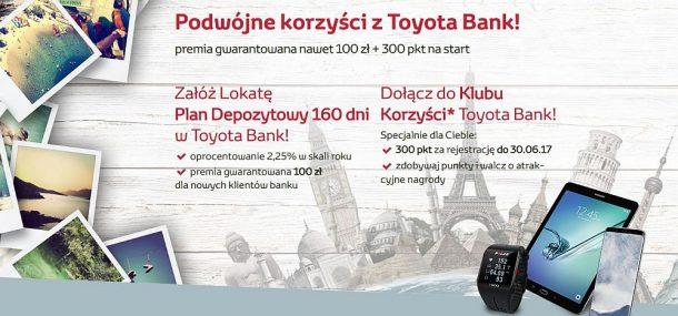 podwójne korzyści z Toyota Bank