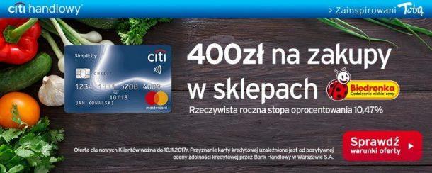 400 zł na zakupy w Biedronce