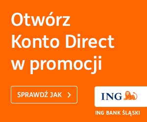 Konto Direct promocja