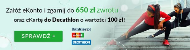 100 zł do Decathlon