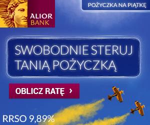 Pożyczka na piątkę w Alior Bank