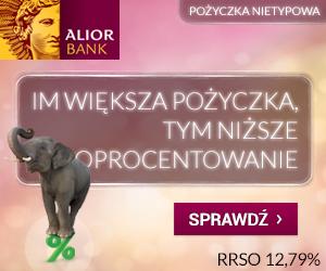 Pożyczka nietypowa w Alior Bank